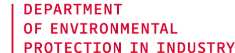 Department of Environmental Protection in Industry
