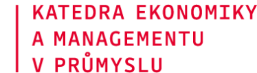 Katedra ekonomiky a managementu v průmyslu