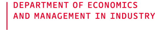 Department of Economics and Management in Industry