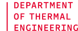 Department of Thermal Engineering