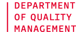Department of Quality Management